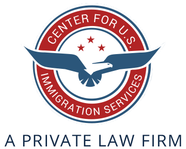 Center for U.S. Immigration Services Retina Logo