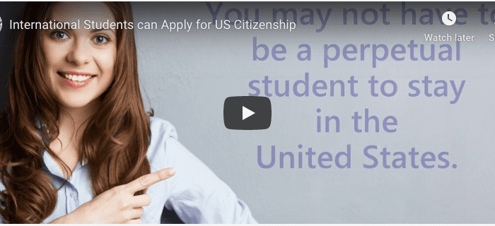 International Students can Apply for US Citizenship News News Internation Students can Apply for US Citizenship 700x320
