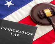 Who We Are Who We Are judge gavel and immigration law book on united sta 5Z2EYE3 177x142